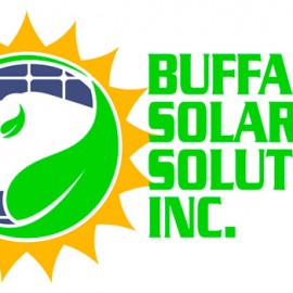Buffalo Solar Solutions Custom Logo Design