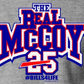 "The Real ""LeSean"" McCoy #Bills4Life Buffalo Bills T-Shirt"