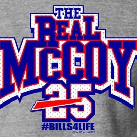 "The Real ""LeSean"" McCoy #Bills4Life Buffalo Bills T-Shirt"