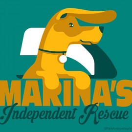 Marina's Independent Rescue Custom Logo Design