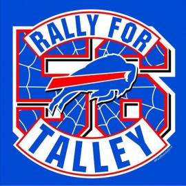 Rally For Talley Buffalo Bills Screen Printed Tee