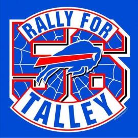 Rally For Talley Buffalo Bills Screen Printed Tee