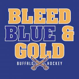 Bleed Blue & Gold