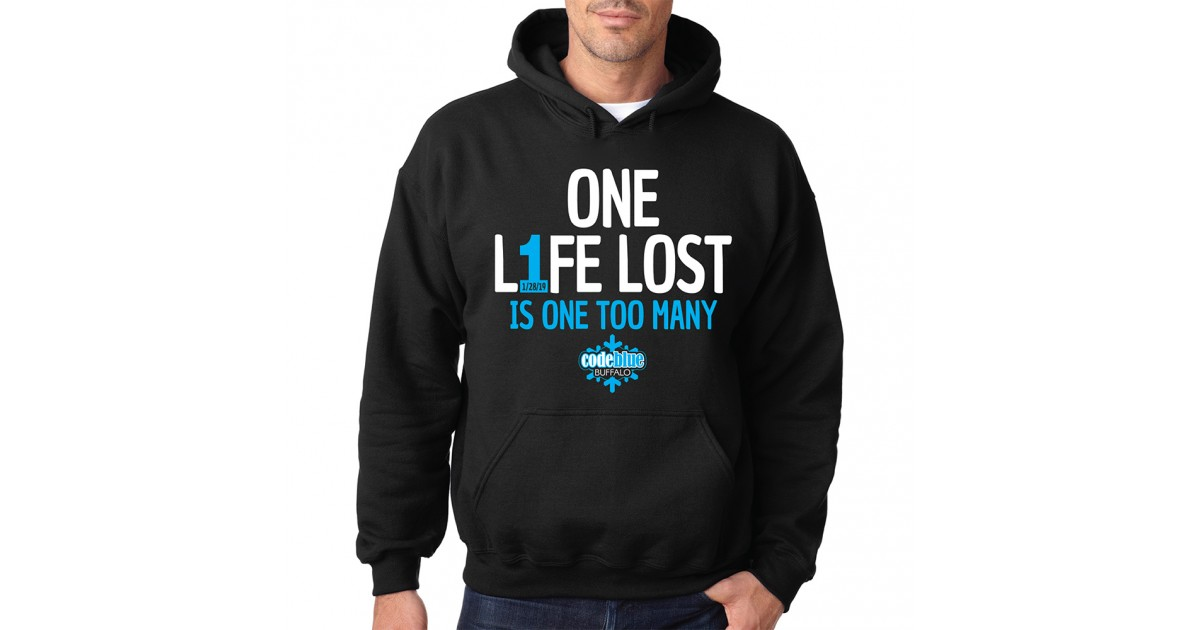 ONE L1FE LOST IS ONE TOO MANY (Local) by www.parkavenueimprints.com